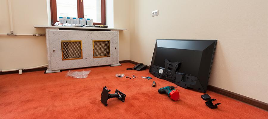原状回復OK! 賃貸でも壁掛けテレビを楽しめる3つの方法