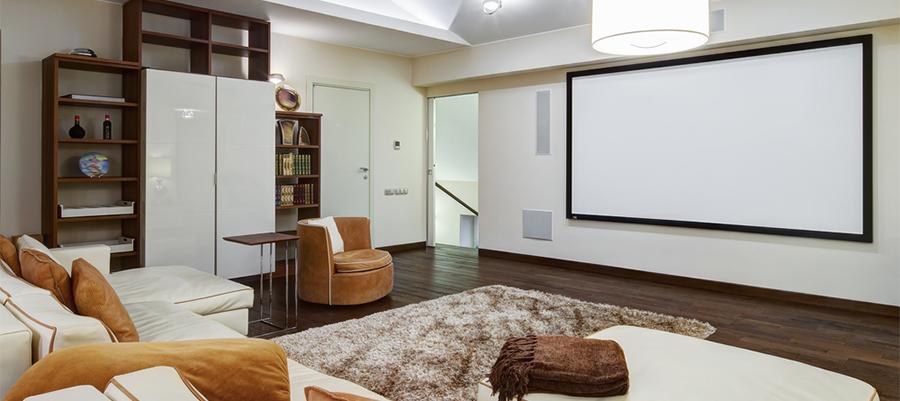 素材や設置方法で見るホームシアター用スクリーンの選び方