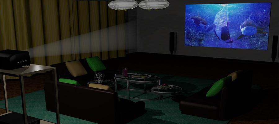 大画面で大型テレビとスクリーン、それぞれのメリットは?