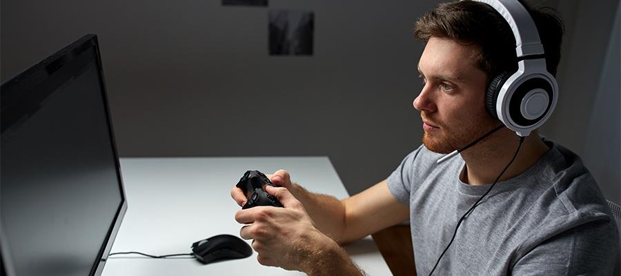 ゲーム好きならPCモニターを大画面テレビにしよう