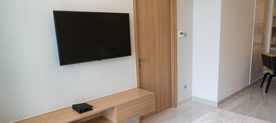 大型テレビを置くときは壁掛けテレビがおすすめ